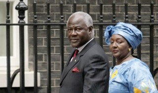 BRITAIN-SLEONE-POLITICS-BROWN-KOROMA