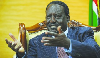 Raila Odinga fights for relevance