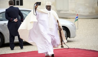 """If you always follow others, you can never lead"" – President Yahya Jammeh"
