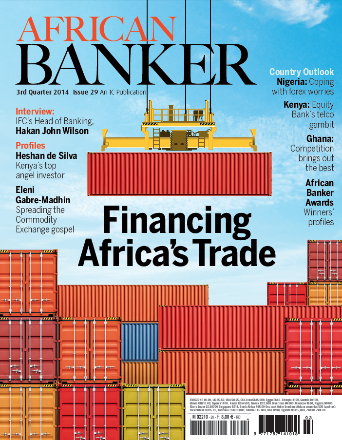 African Banker Magazine Cover