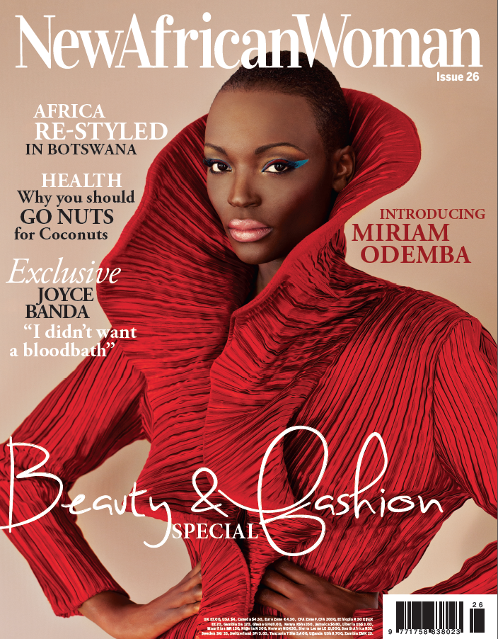 New African Woman Magazine Cover