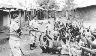 Tens of thousands of Kenyans were rounded up, few whom had anything to do with the Mau Mau movement