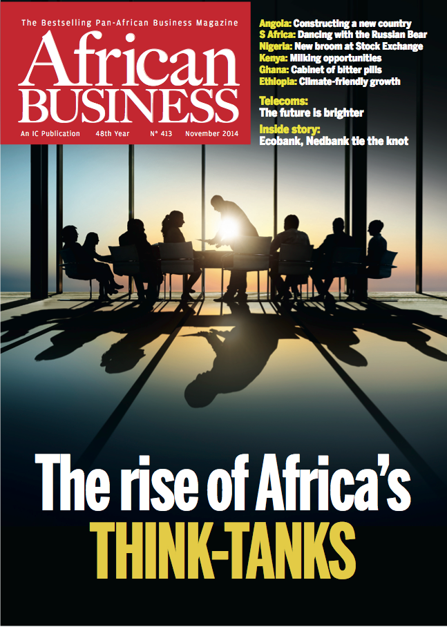 African Business Magazine Cover