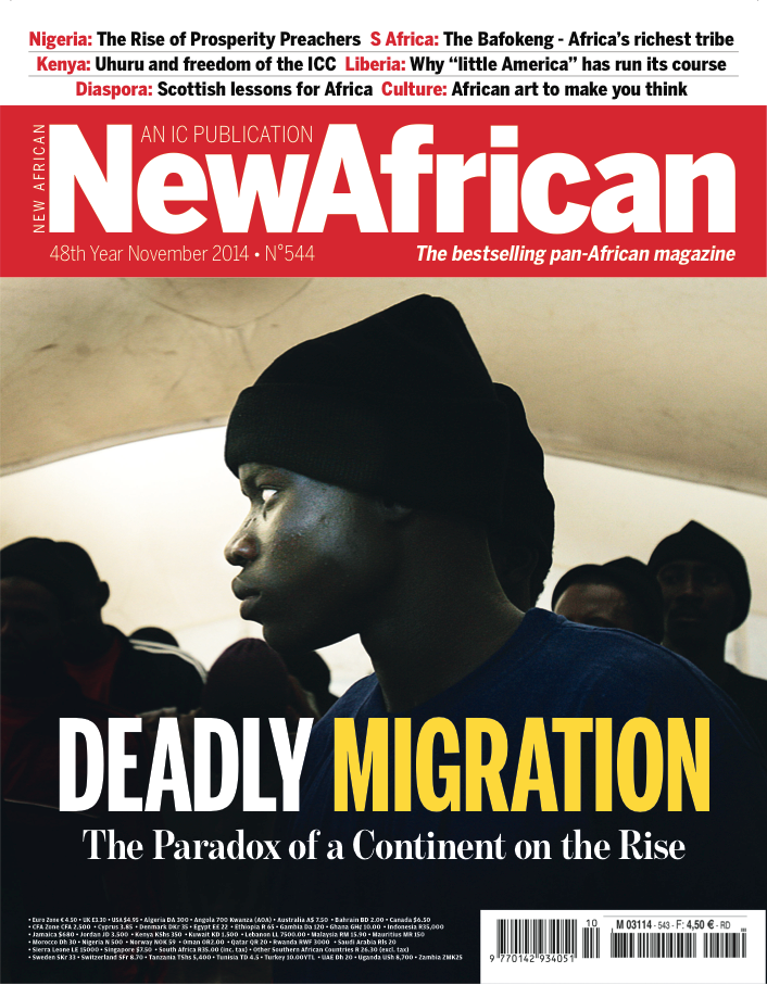 New African Magazine Cover