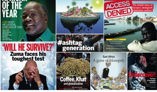 New African 2016 Covers