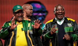 """Cyril Ramaphosa: """"President Zuma won't be treated with disrespect, South Africa  has a 'game plan' to boost economy"""""""