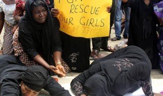 'Million-woman' march in Abuja to protest against Boko Haram's schoolgirls' abduction