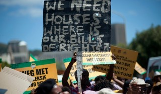 South Africa:  20 years on, still waiting for the ANC to deliver