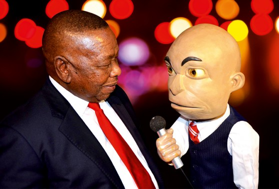 Chester Missing, The straight-talking puppet - South Africa