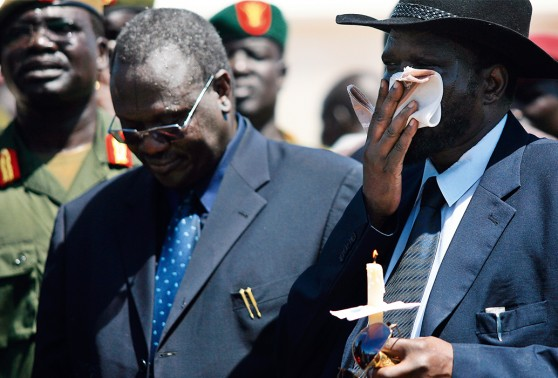 Salva Kiir and Riek Machar, Rival politicians tearing their country apart - South Sudan