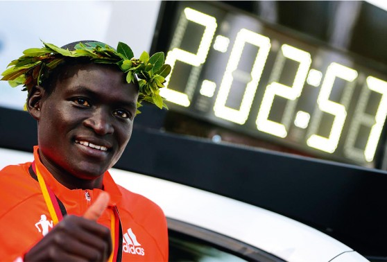 Dennis Kimetto, The fastest man in the world - Kenya