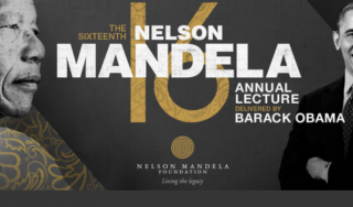 Barack Obama to deliver the Nelson Mandela 2018 Lecture on the eve of Madiba's birthday Centenary