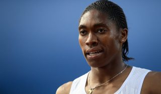 South Africa's Caster Semenya rans fastest time of 2018