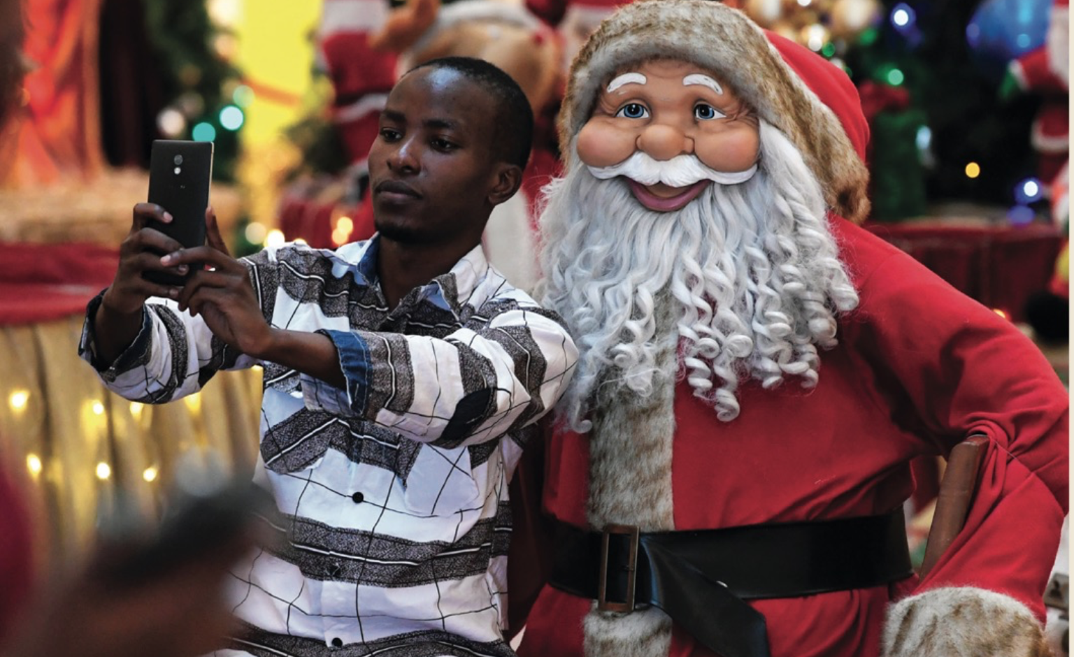Christmas, Africa and Christianising colonisation