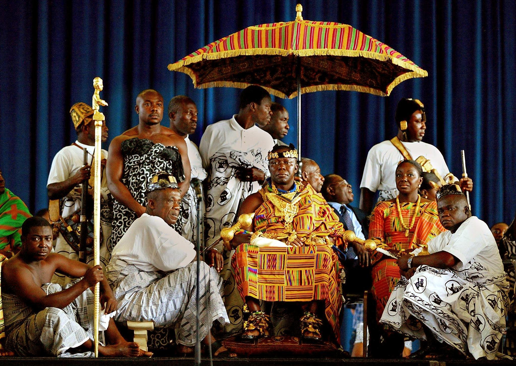 Ghana: Asantehene Otumfuo Osei Tutu II  – 20 years on the Royal Stool