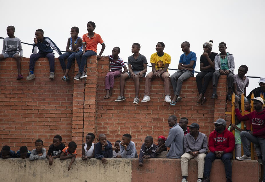 South Africa: Youth have no faith in politicians