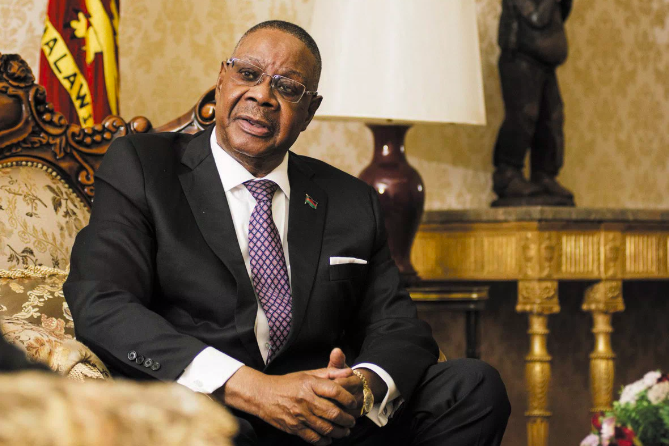 Before he lost at the polls, Malawi's Peter Mutharika was ousted by the courts