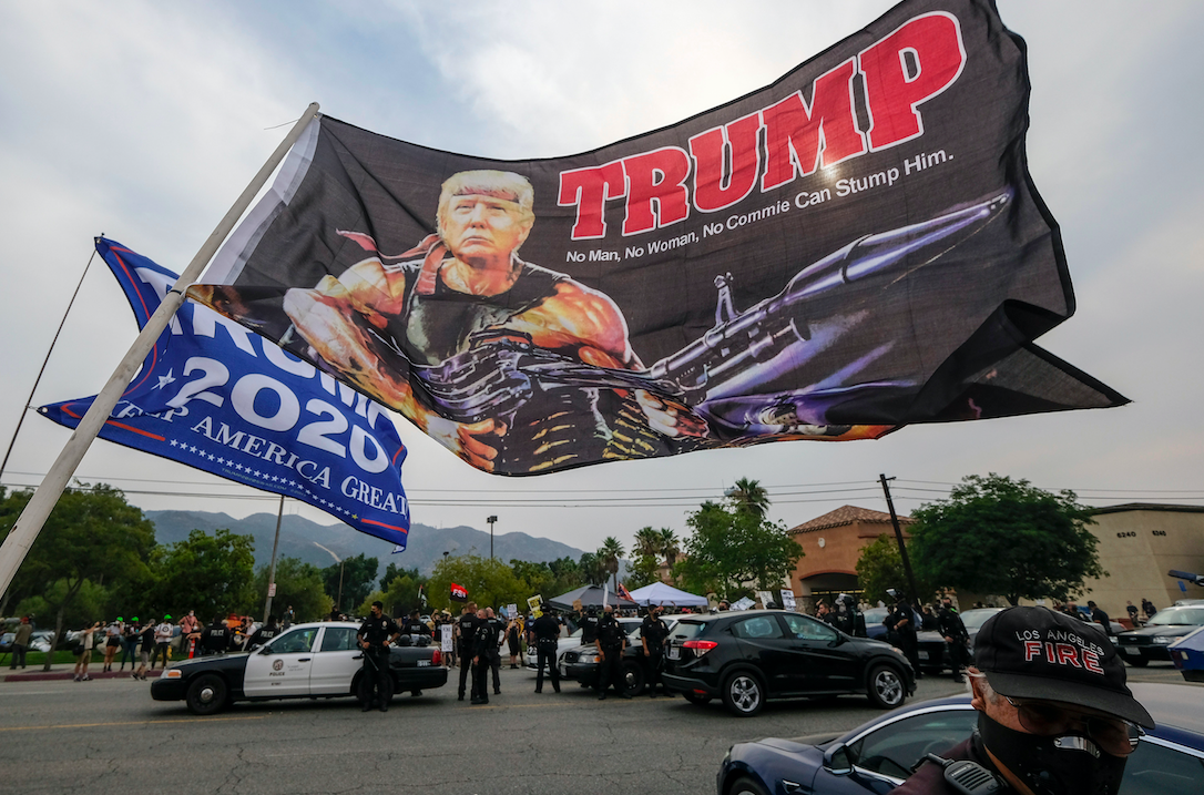 Win or lose, the clock is ticking for Trump's White supremacists