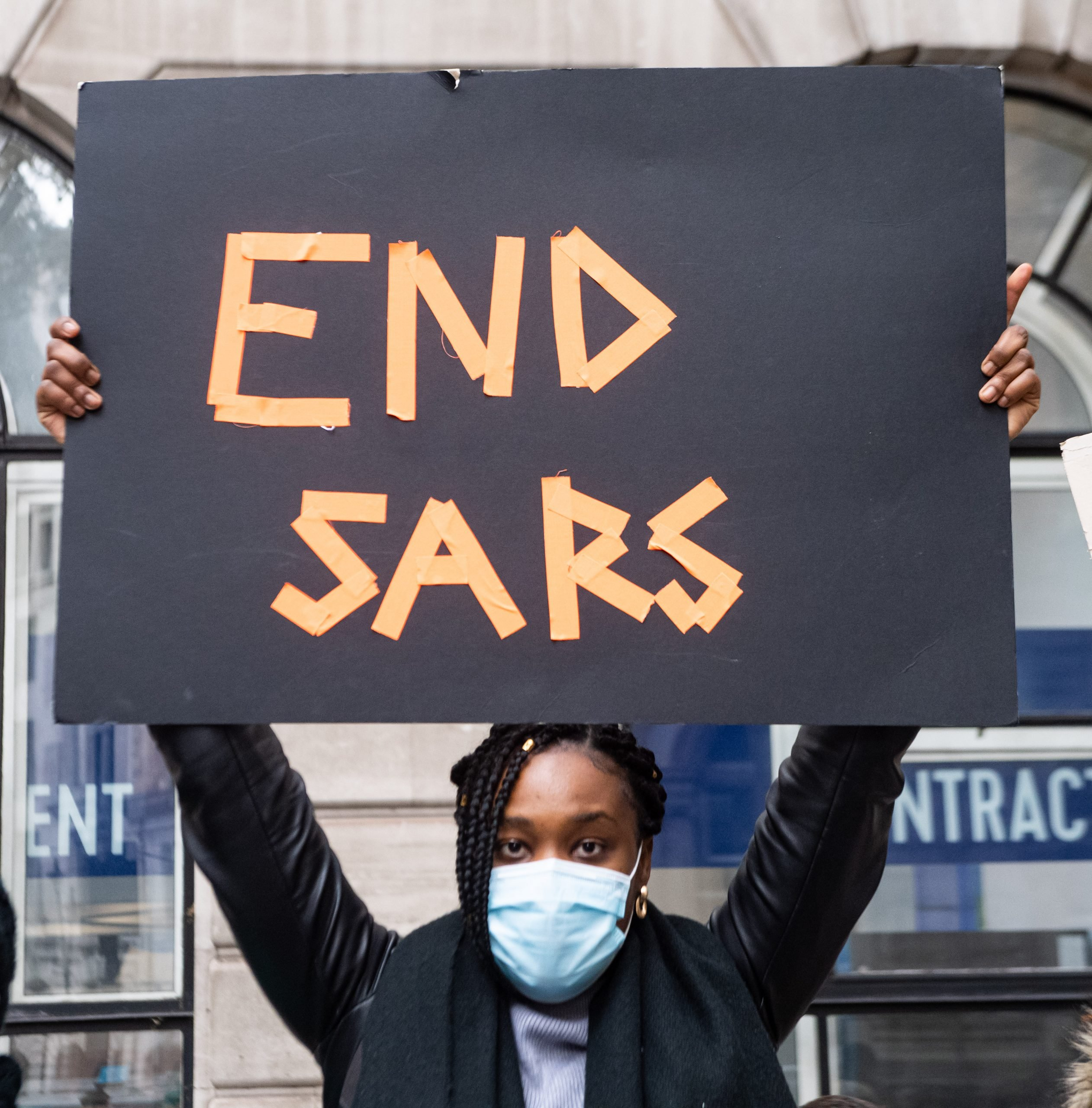 #EndSARS protests against police brutality continue in Nigeria