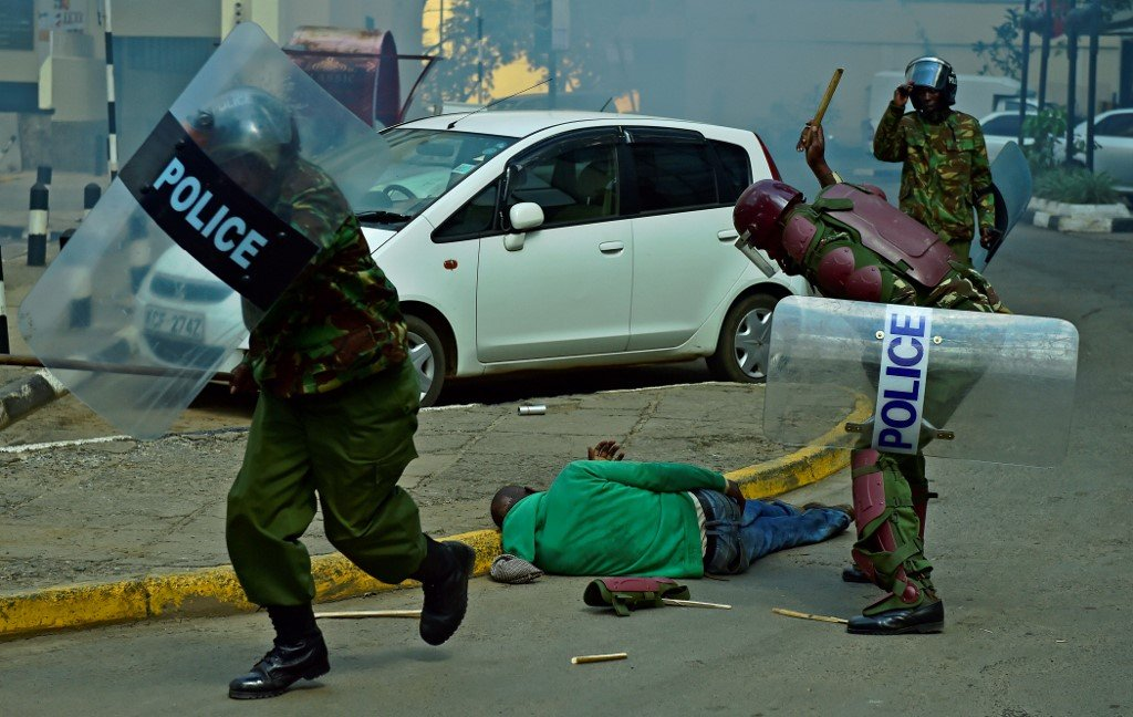Where is the condemnation for brutality against Africans?