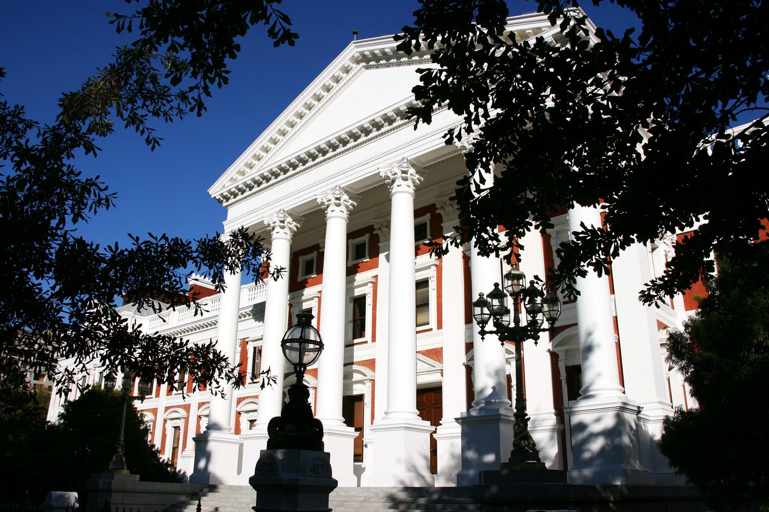 Parliament building, Cape Town.