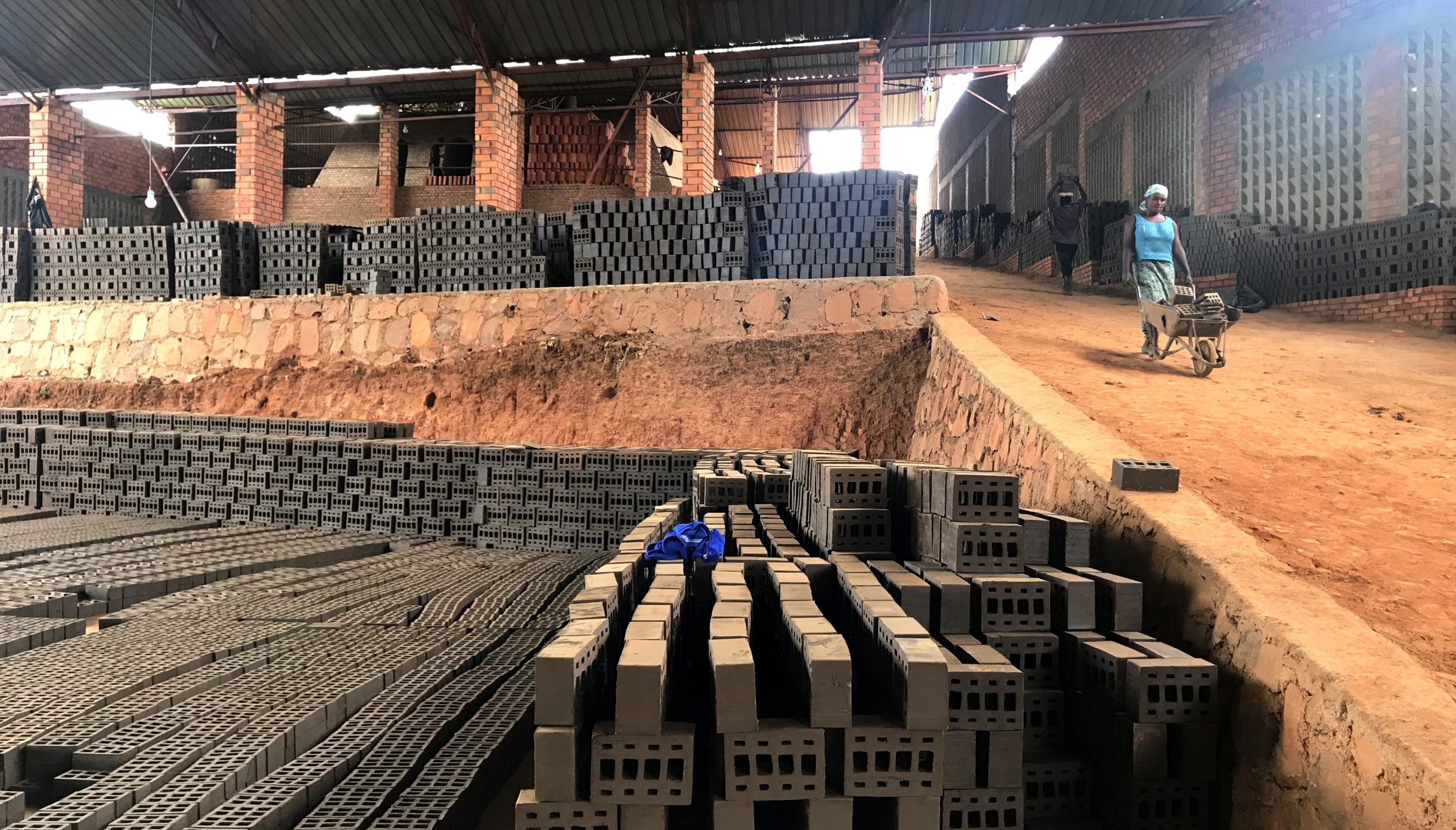 Modern bricks provide green solutions for affordable housing in Africa
