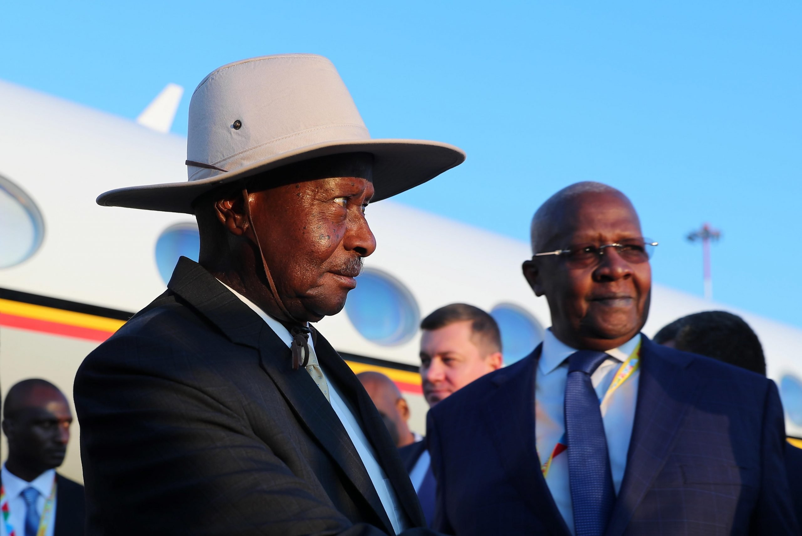 The labours of Museveni