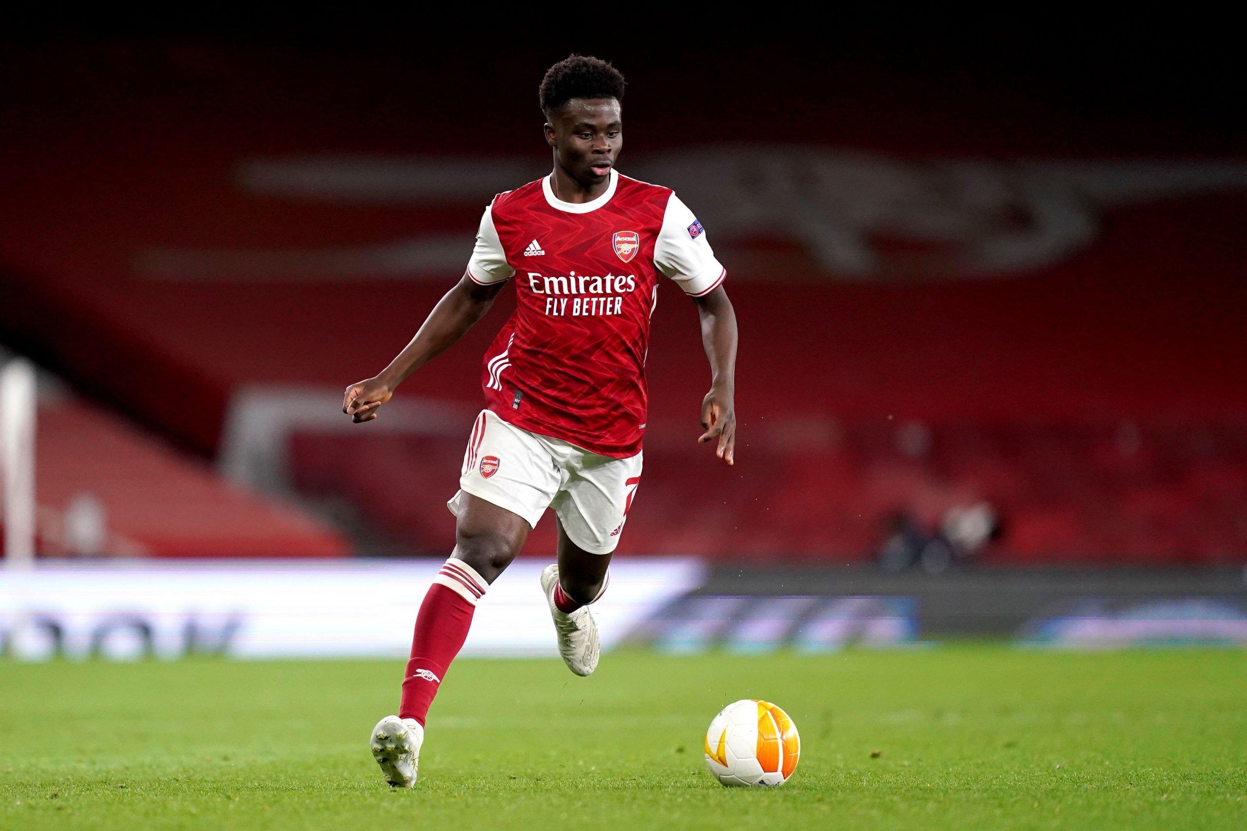 Bukayo Saka: Gunning for greatness