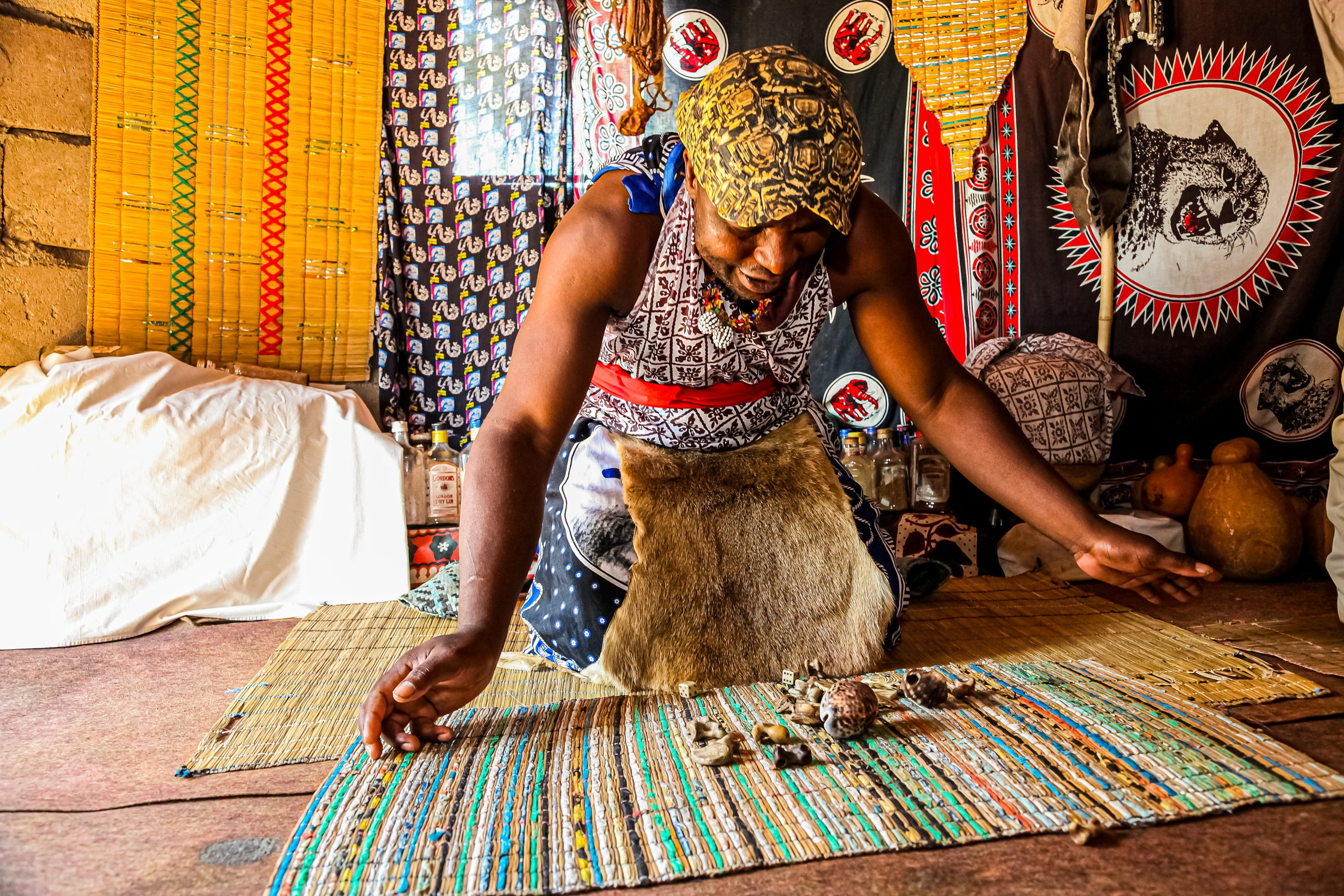 The spiritual journey of becoming a traditional healer